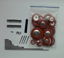Alto Saxophone Pads and Alto Saxophone Roller Screws Spring In Saxophone Repair