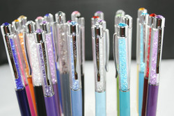Swarovski elements crystal pen with refill or gift box case bag optional crystalline ballpoint pen wedding.jpg 250x250