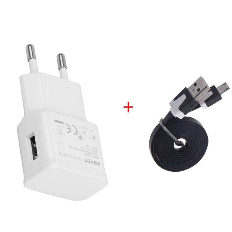 Promotions ! HOT! EU plug Adapter 5V 2A + micro usb cable charger data for samsung galaxy note 3 s3 i9500 s4 for sony xperia z1