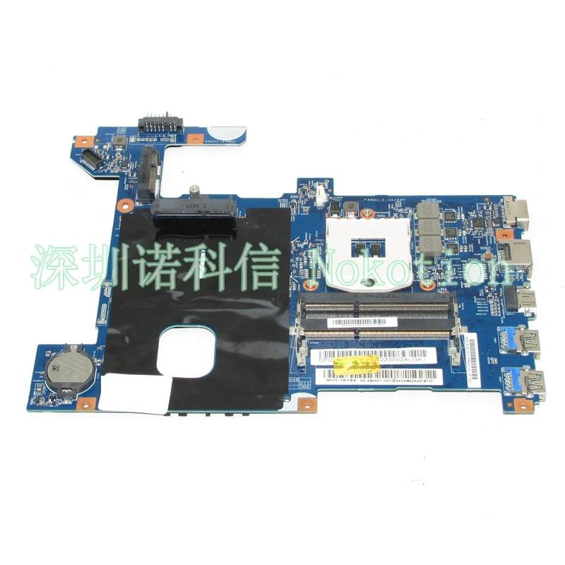 NOKOTION материнская плата для ноутбука lenovo G580 Intel HM77 DDR3 lg4858 UMA плата MB 48.4sg06.011 11s900003