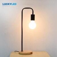 LUCKYLED Loft Industriële Stijl lamp Iron Craft Logs Chassis E2627 Lamp Vintage Boek Woondecoratie Verlichting Slaapkamer Nachtlampje