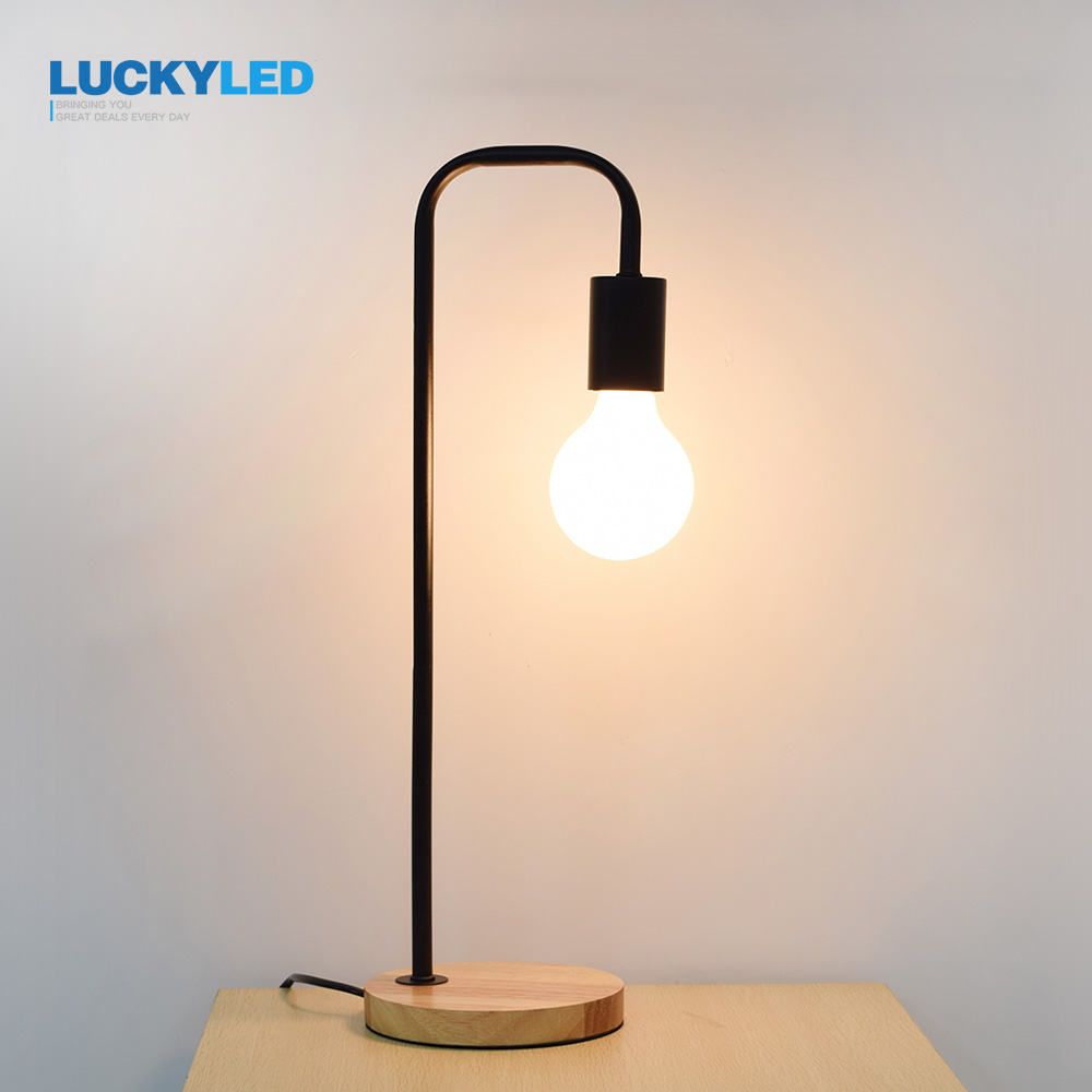Lights & Lighting Humorous Iwhd Industrial Vintage Table Lamp Creative Water Pipe Beside Desk Lamp Led E27 Decorative Lampara De Mesa Led Lamps