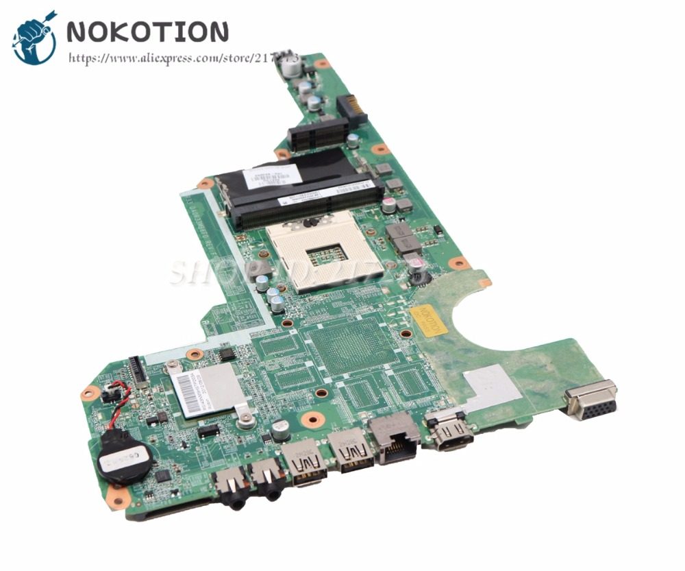 NOKOTION DA0R33MB6E0 680568-001 Laptop Motherboard For HP Pavilion G4 G6 G7-2000 G6-2000 G4-2000 Main Board laptop motherboard for hp pavilion g4 g6 g7 2000 g6 2000 g4 2000 motherboard da0r33mb6e0 680568 001