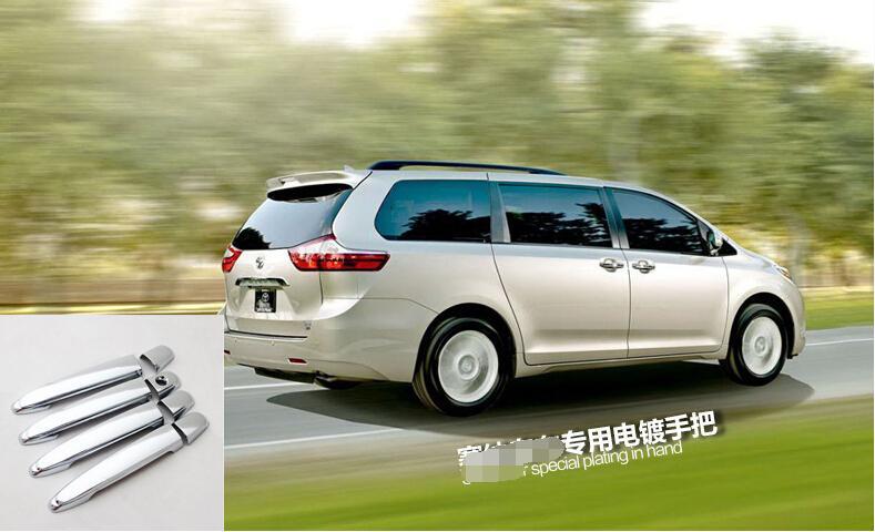 Za Toyota Sienna 2013 - 2017 ABS obloga stranskih vrat ročaja