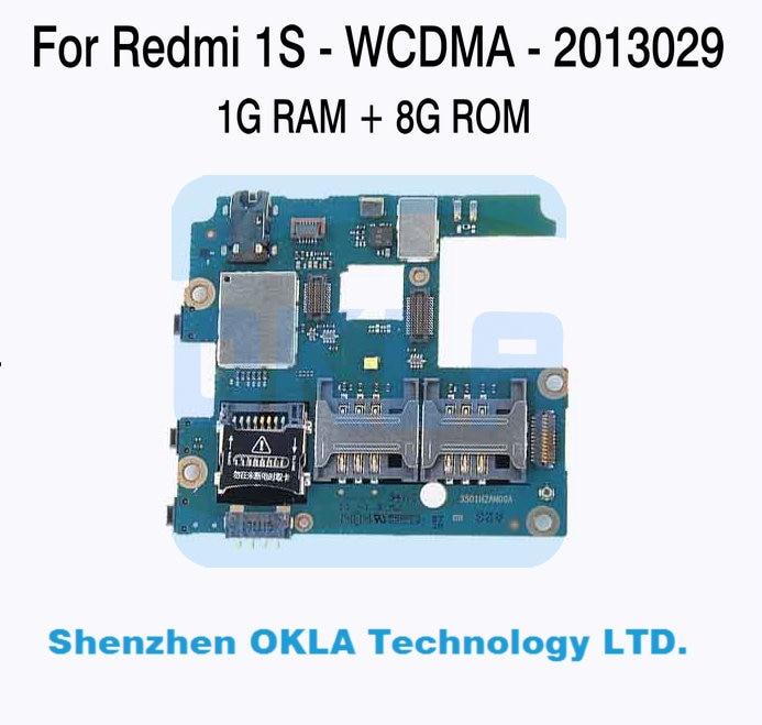 bilder für 1 stücke Für Xiaomi Redmi Mi Hongmi 1 S 2013029 WCDMA 1 GB RAM 8 GB ROM Mainboard Motherboard Logic Board Ersatz Verwendet Original
