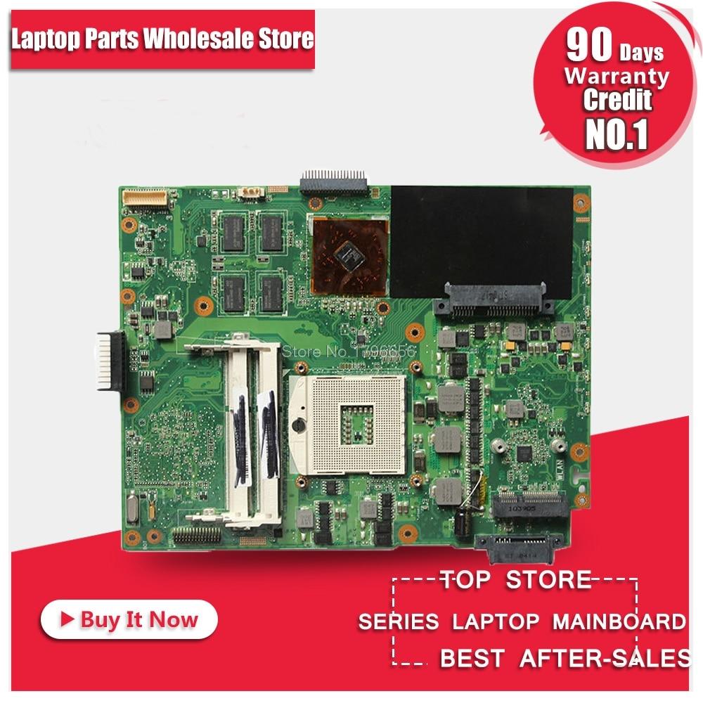 For ASUS K52JR Laptop Motherboard Mainboard k52jr k52j a52j K52jc A52J K52JT 1GB 8 memory DDR3 REV2.0 Version k52jr rev 2 0 2 2 hd5470 1gb motherboard for asus k52je a52j x52j k52ju k52jt k52jc k52j laptop original notebook motherboard