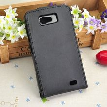 Mobile Phone Case Back Cover PU Leather Case For Gionee GN700w & Fly IQ441 Fluctuation Flip Open Cover Black