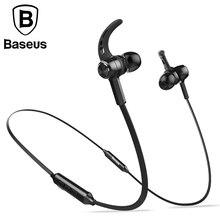 BASEUS Магнитная Беспроводной Bluetooth наушники для iPhone7 Samsung S8 Спорт Бег стерео ухо наушники Динамик гарнитуры
