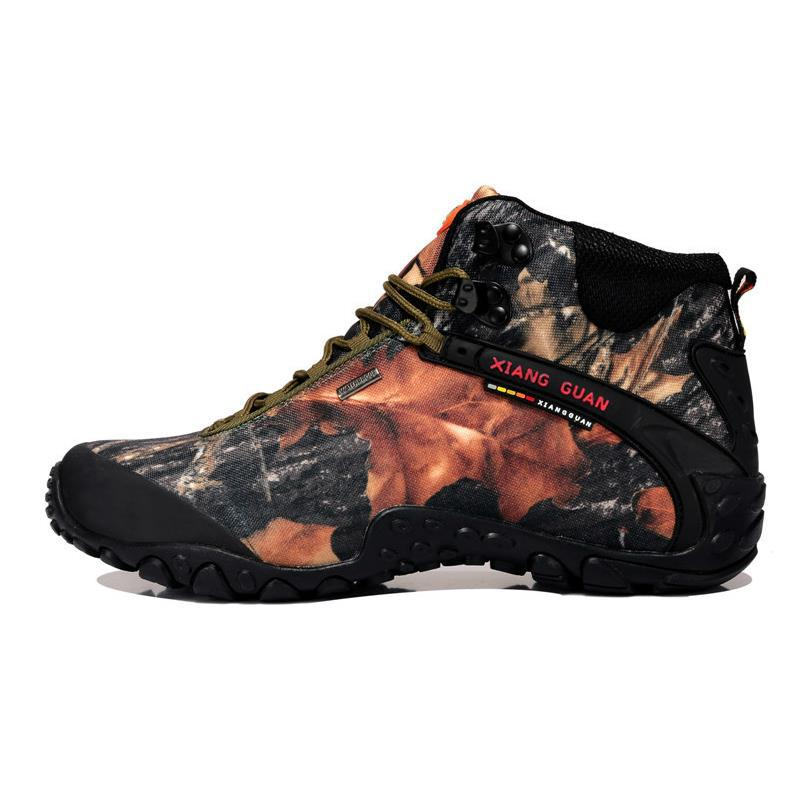 ФОТО Unisex Camouflage Outdoor Scarpe Trekking Hiking Boots Shoes Sneakers For Women And Men Sport Climbing Mountain Boots Shoes