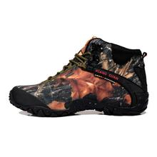 Unisex Camouflage Outdoor Scarpe Trekking Hiking Boots Shoes Sneakers For Women And Men Sport Climbing Mountain Boots Shoes