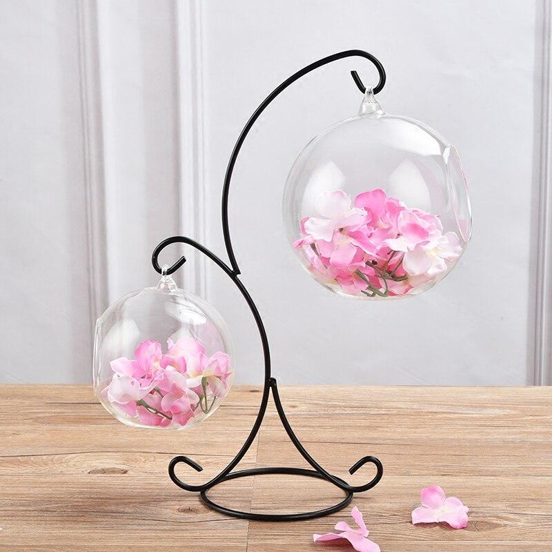 Achetez en gros boule en verre vase en ligne des grossistes boule en verre vase chinois - Boule en verre pour plante a suspendre ...