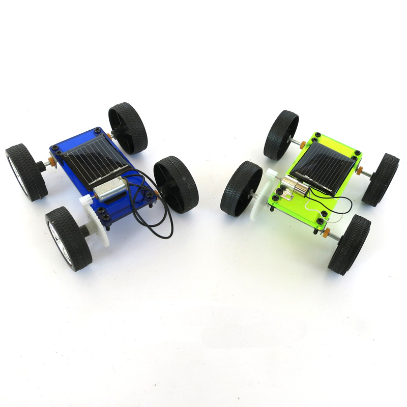 Science and technology small production solar energy toy car diy car educational toys assembled model