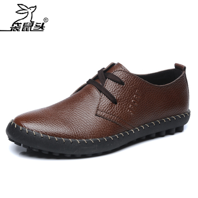 Phalanger 2013 spring gommini men loafers genuine leather male casual shoes soft leather soft outsole shoes