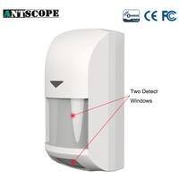 Antscope Z Wave Smart PIR Infrared Motion Detector Sensor Alarm Z Wave Wireless PIR Alarm System