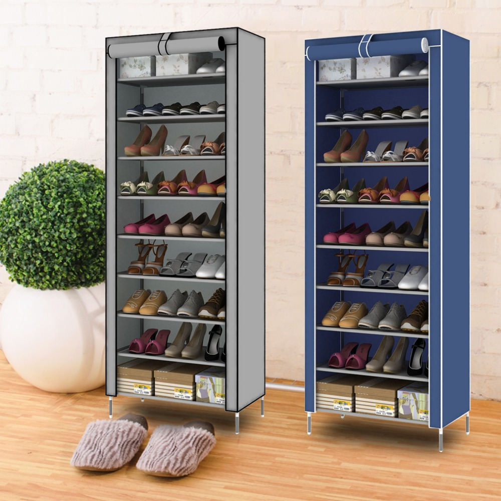 10-nivel 9 división de estantes de zapato de tela no tejida ... 90926e3505c4