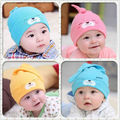 Lovely Unisex Soft Crochet All children's clothes and accessories Baby Boy Girl Hat Infant Cotton Beanie Warm  caps for children