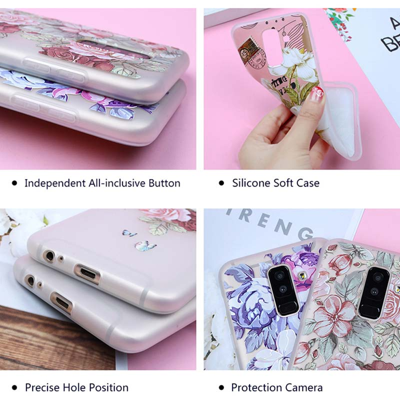 Silicone Phone Case I love cats Printing for Samsung Galaxy A8S A9 A8 Star A7 A6 A5 A3 Plus 2018 2017 2016 Cover in Fitted Cases from Cellphones Telecommunications