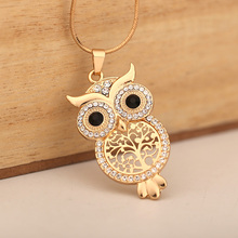 Best Tree Of Life With Owl Pendant Necklace Cheap