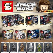 Star Wars MICROFIGHTERS Republic Gunship ARC 170 Starfighter font b Building b font Blocks font b