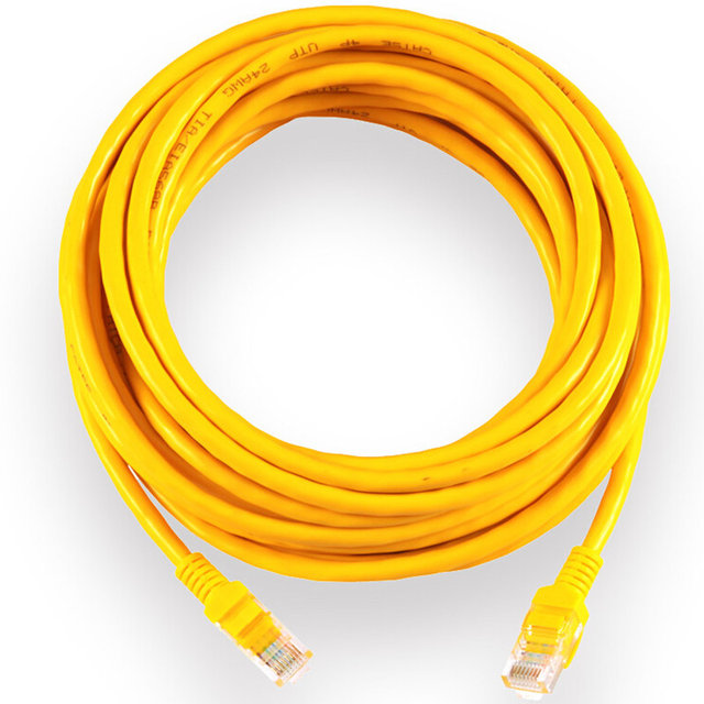 15M Copper Wire Home Network Ethernet Cable CAT5 CAT 5 RJ45 Network ...