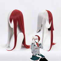 My Hero Academy Himiko Toga Midoriya Izuku Shoto Todoroki Tenya Momo Synthetic Cosplay Wig For Halloween Costume Party
