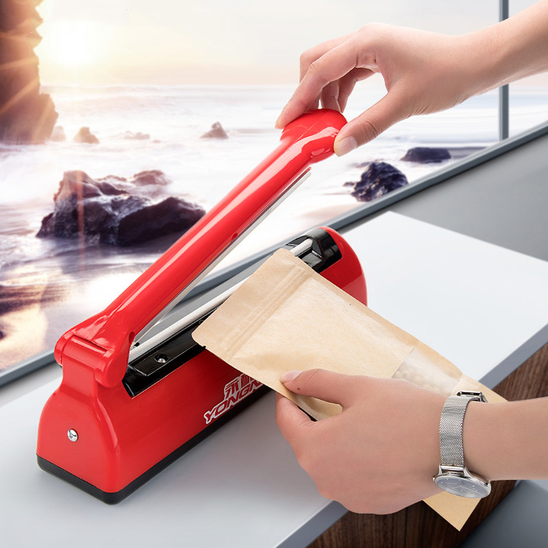 YTK Vacuum Sealer Best Manual Portable Household Food Wet Dry 220V 21X0.5cm Packaging Machine цена