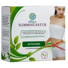 Health Care Slimming Navel Stick Slim Patch Magnetic Weight Loss Burning Fat Patch 30 Pieces Box