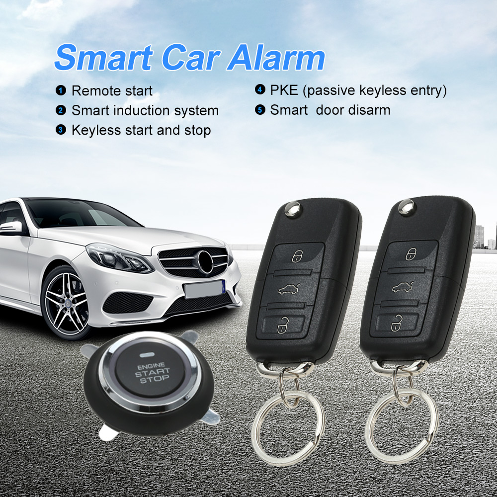 Universal Car Alarm Systems Auto Remote Central Kit Door Lock Keyless Entry System Central Locking smart Induction system universal cold feed induction kit