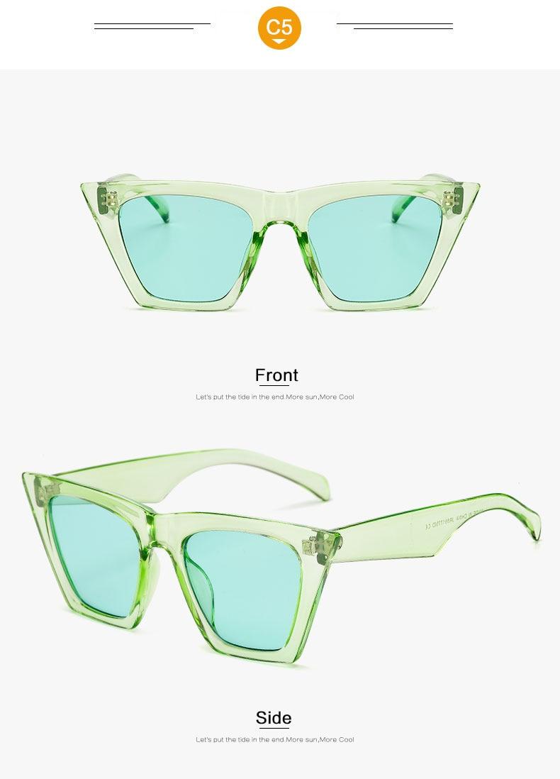 HTB1Xb3nlZrI8KJjy0Fhq6zfnpXax - AFOFOO Fashion Women Sunglasses Cat Eye Glasses Lady Brand Designer Retro Sun glasses UV400 Shades Eyewear Oculos de sol