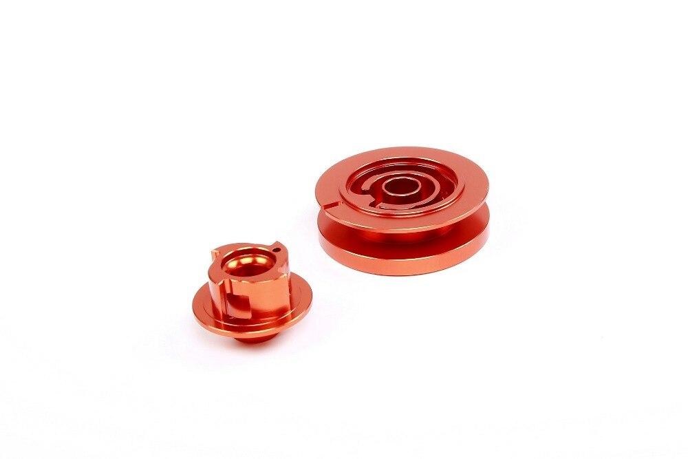Rovan pièces 1/5 gaz rc baja pièces de rechange NOUVEAU PRODUIT facilement de départ pull starter CNC roue de corde et ensemble turbine 8527502