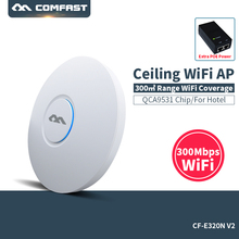 COMFAST wireless Ap CF E320N V2 300Mbps Ceiling AP 802 11b g n wifi router Indoor