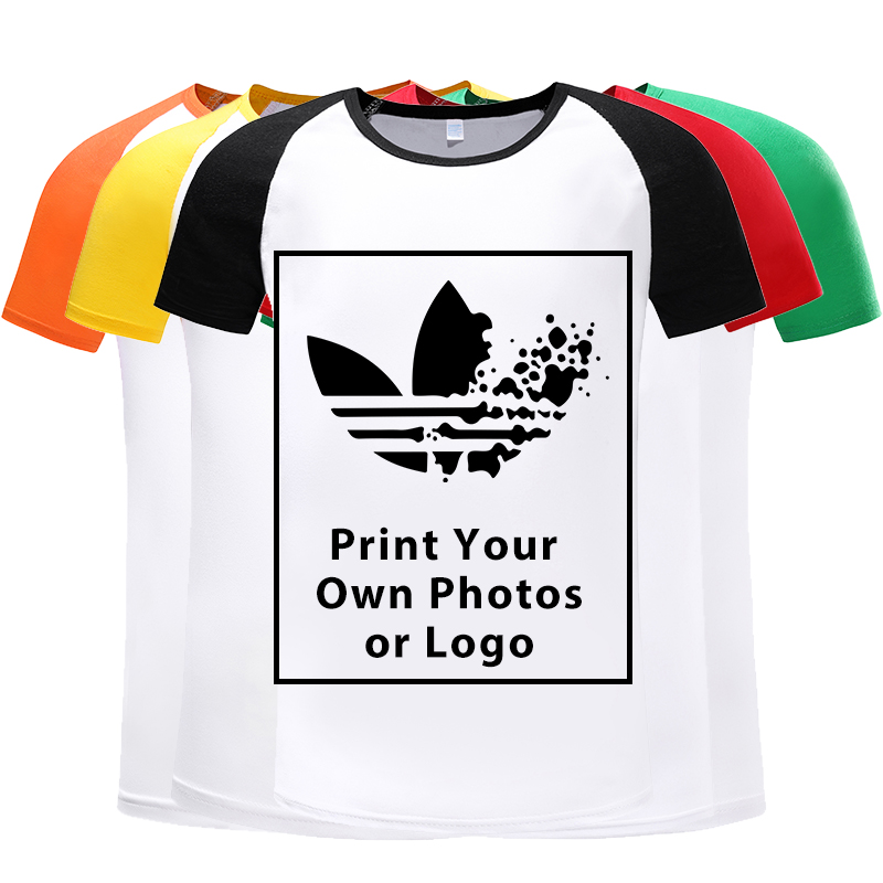 Men's T-shirt Top Fashion Short-sleeved Custom Printing Logo Photos T-shirt Mens T Shirt 2019 Cool Shirt For Men Breathable Tops