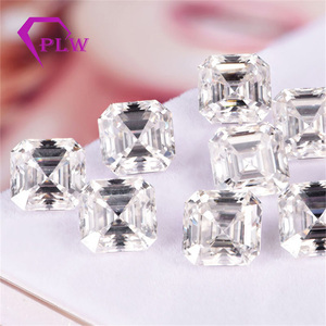 Image 4 - Provence jewelry Loose moissanite 2 carat 7*7 mm D color asscher cut test positive gem stone for bracelet  ring chain earring