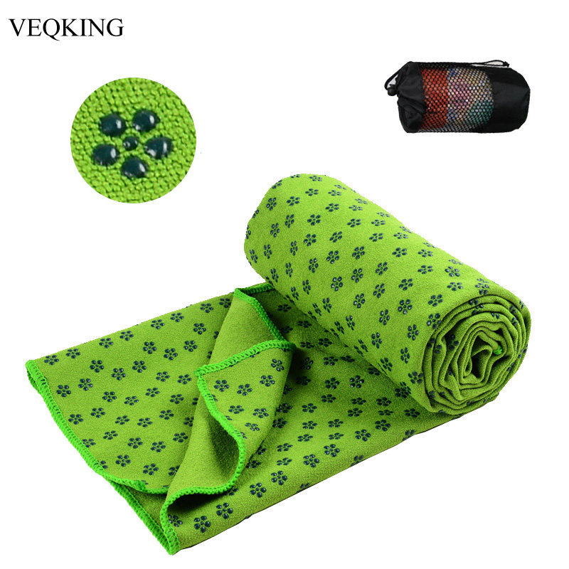 Good Quality 183*63cm Non Slip Yoga Towel Blanket 100