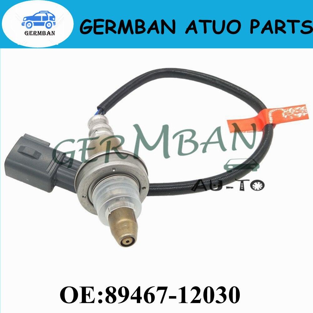 Front New Manufacture Air Fuel Ratio Oxygen Sensor Lambda Sensor Fit For Yaris Corolla Verso 89467-12030 8946712030 new o2 oxygen air fuel ratio sensor for toyota fj cruiser 4runner 4 0l 89467 60060 8946760060 89467 60060