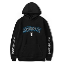 New XXXTentacion fashion ladies hoodie hip hop street hooded casual sports