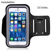 Нарукавная повязка Спорт сотовый телефон держатель чехол для iphone huawei samsung Xiaomi 5,5 дюймов нарукавный спортивный чехол Крышка телефонные чехлы