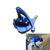 CNC Throttle Thumb Assembly For Honda TRX 400EX TRX400EX TRX 250R 450R Blue
