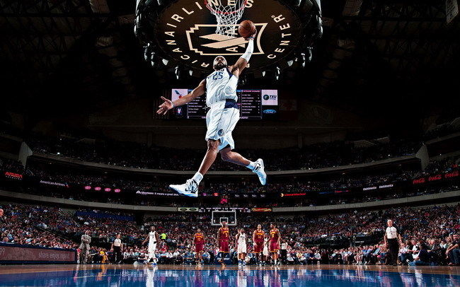 012 Vince Carter - Basketball Slam Dunk Star 22x14 Poster