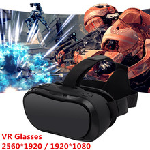 VR 3D Headset All In One VR Glasses 2560 1440P HD Display Virtual Reality Goggles HDMI