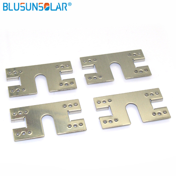 100 Piece A Lot Hot Selling Grounding Clip For Solar Mounting System Solar Pv System Solar Installation Clamp LJ0211 Solar