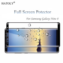 Screen Protector sFor Samsung Galaxy Note 8 Tempered Glass For Samsung Galaxy Note 8 Glass Full Phone Film For Samsung Note 8