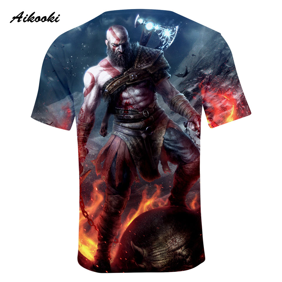 Gaming shirts T shirt Men/Women Tshirt 3D Print 2018 1