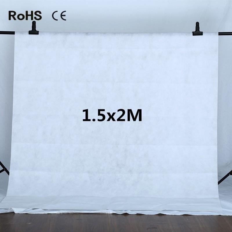 Photo Studio 1.5x2m White Non-woven Fabrics Backdrop Photography Studio Backgrounds Backdrops Fotografia Photo Background 10 x 5ft photography background non woven fabrics backdrops