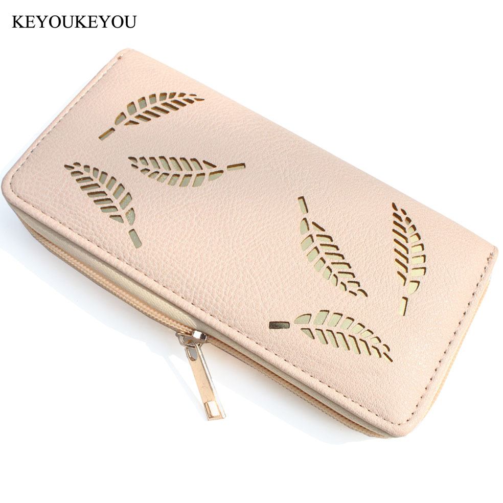Fashion Slim Wallet Female Purse Long Solid Pink Hollow Out Organizer Credit Card Holder Coin Purse Mobile Multi Lady Women Bag purse female short women wallet clutch organizer pu small lady wallets credit card coin holder purse fashion large capacity