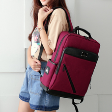 Computer Backpack Korean Student Bag 15.6-inch Laptop Business Travel
