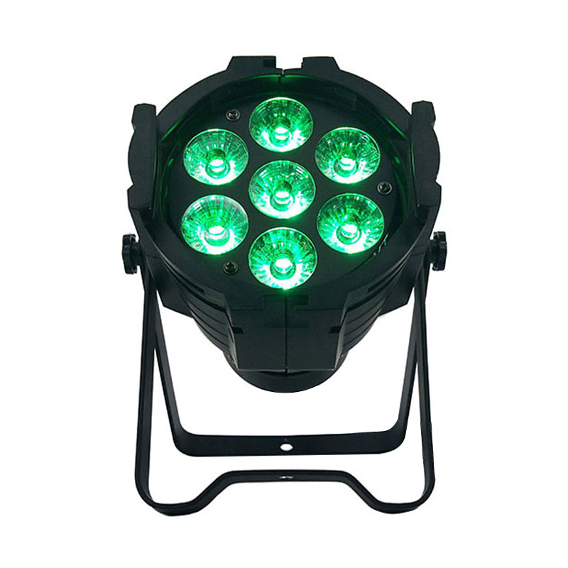 Aluminum alloy LED Par 7x12W RGBW 4in1 DMX512 Wash dj stage light disco party light Dj Lighting professional stage light,SHEHDS led rgb wall wash bar light dmx512 night club wedding party disco stage