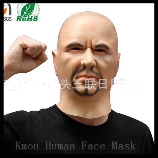 2017 Máscara masculina de látex de grado superior de silicona Ex - Para fiestas y celebraciones