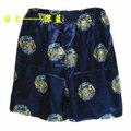 2016 homens verão do Rayon Silk Shorts praia Shorts Boxers Homewear Casual Shorts fábrica atacado varejo # 3802