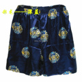 2016 summer Men's Rayon Silk Shorts beach shorts Boxers  Homewear Casual shorts Factory wholesale Retail #3802